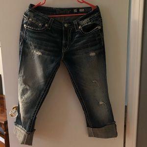 Miss Me crop jeans size 29
